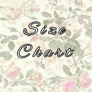 ⚜ Size Chart